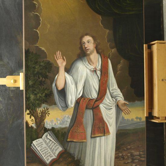 Saint Roch après restauration