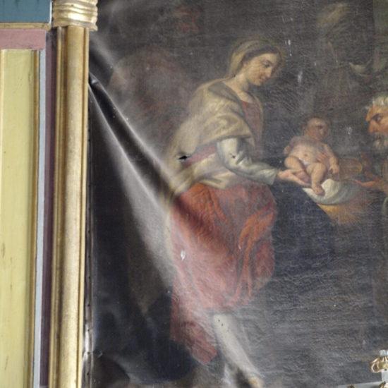 """Déformations """"Adoration des Rois Mages"""", Lignières (41)"""